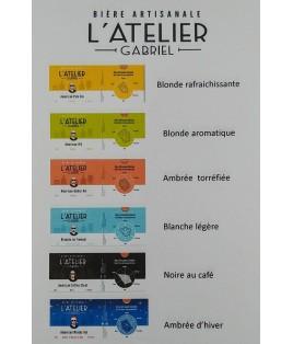 BIERE ARTISANALE L'ATELIER GABRIEL