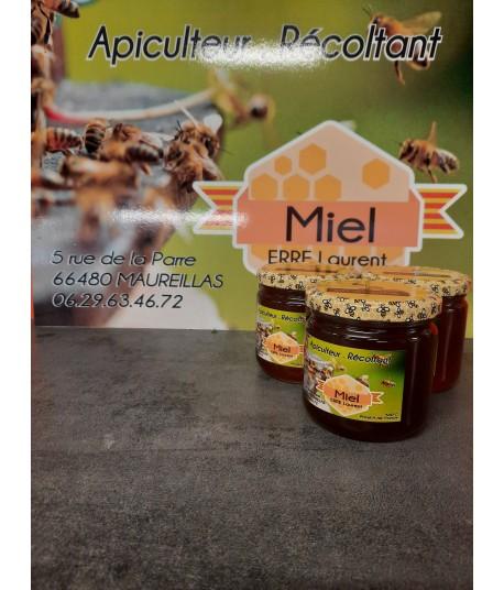Miel de bruyères blanches 500 gr